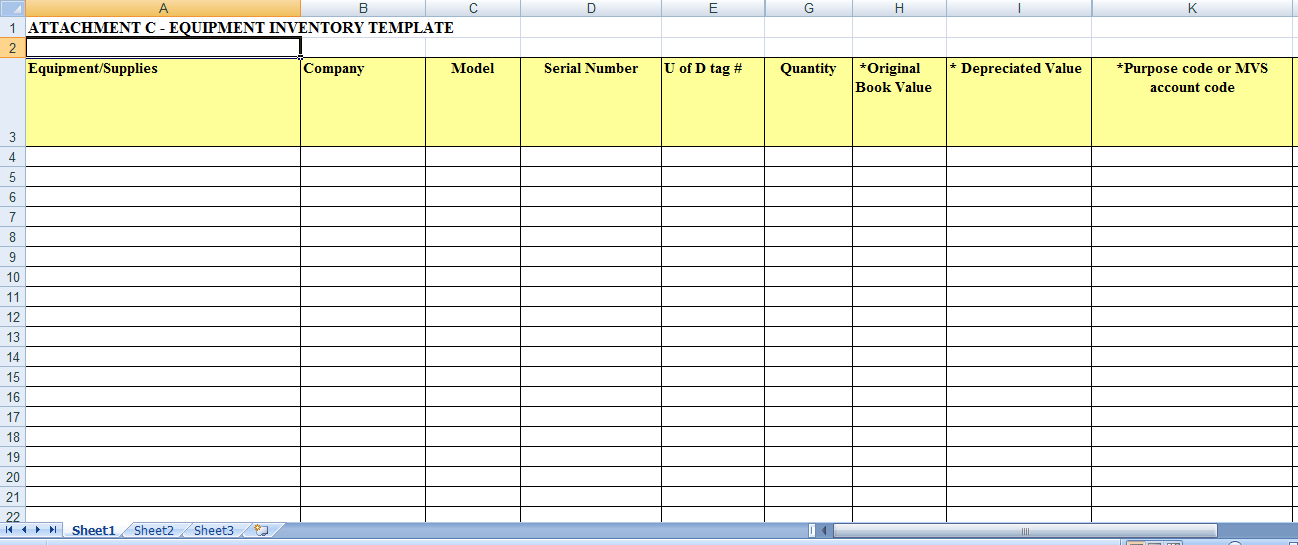 6 Excel Inventory Templates formats Examples in Word Excel – Inventory Card Template
