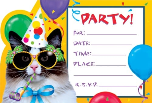 free printable invitations templates  formats, examples in word, Party invitations