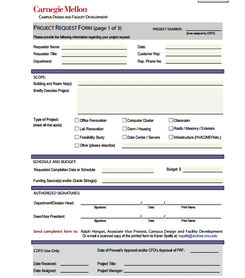 5 Request Form Templates formats Examples in Word Excel – Form Template Word