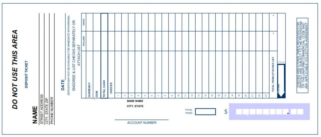 Sly image for bb&t printable deposit slip